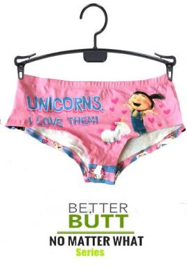 Secret Possessions Unicorn Print Bottom Hipster Panty