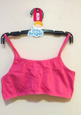 V By Very Cute All Pink Kids Crop Bra