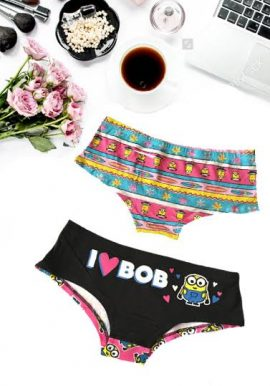 Secret Possessions Pack of 2 Printed Hipster Style Panties