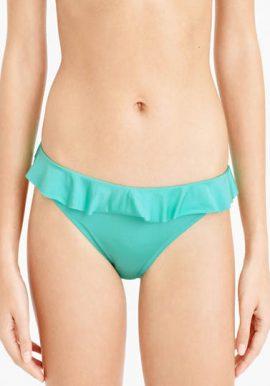 Factorie Sexy Ruffle Side Tie Bikini Bottom
