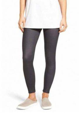 Duparc Grey Low Rise Ankle Length Legging