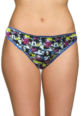 Disney Cute Mickey Mouse Print Everyday Panty