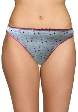 Secret Possessions Mix Star Print Thong Panty