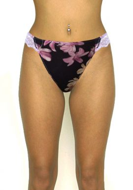 Buy Now-Intimissimi Lace Waistband Floral Print Everyday Panty. Snazzyway