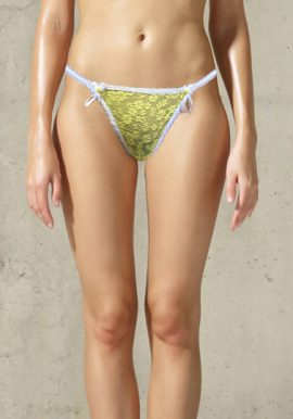 Closer With Evie Floral Lace G-String Panty
