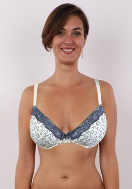 Shop Now- Rougegorge Vintage Print Very Soft Beautiful Underwired Bra. Snazzyway