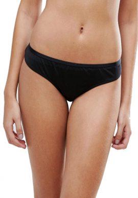 Triumph Black Plus Size Comfy Panty.