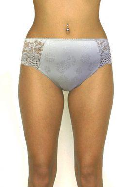 Beautiful White Chic Lace Detailing Bridal Bikini Bottom