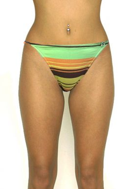 Banana Moon Separate Striped String Swimwear