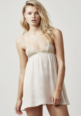 D&G Nude Deep Cream Camisole With Lace Trim Cups