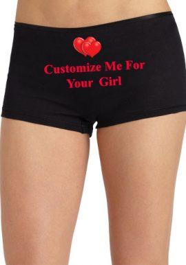 Cozy Waistband Boyshort- Customize For Your Girl