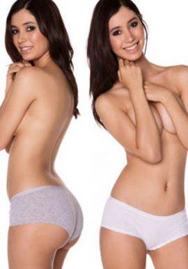 About u -Cotton Boyshort Underwear (PK OF 2)