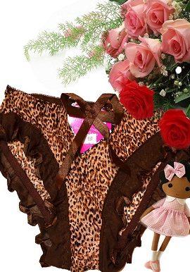 brown,animal, print,bridal,panty,online,online india
