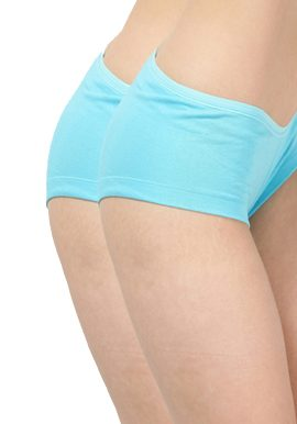 Sky blue boyshort underwear online India