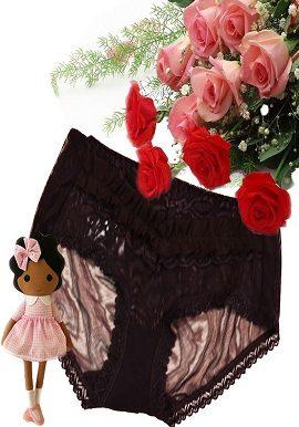 dark,brown,laced,bridal,panty,online,online india