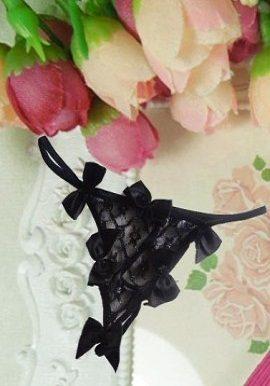 bows,black,thong,net,string
