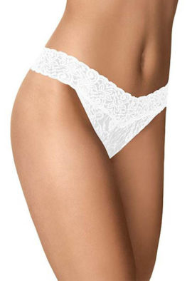 White Lace bridal thong panty underwear