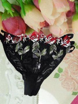 floral,embriodered,string,bridal,panty,online,online india