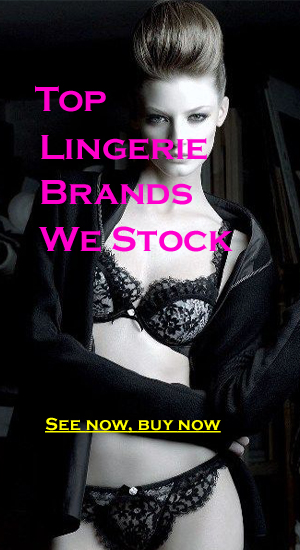 top lingerie brands we carry at Snazzyway