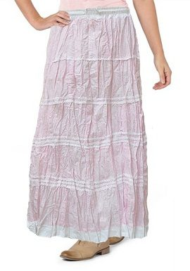 Baby Pink Printed Skirt |India|best|buy|online|