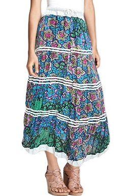Blue Floral Printed Skirt |online|india|buy|
