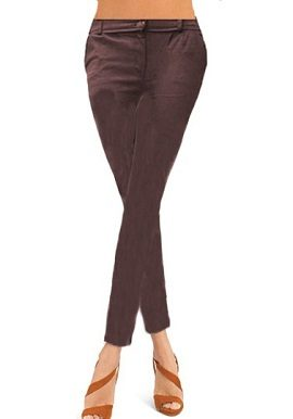 Brown Coloured Skinny Jeggings|online|
