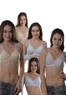 Cotton Comfy Bra(PK Of 5)|buy|