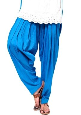 Full Cotton Blue Patiala Salwar|online|bottom|buy|