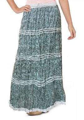 Green Printed Skirt |buy|india|