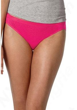 Pink bikini underwear
