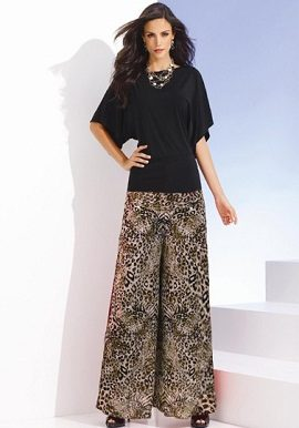 Mario Tiger Print Palazzo Pant|buy|online|india|