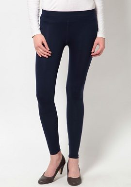 Navy Blue Coloured Legging|online|