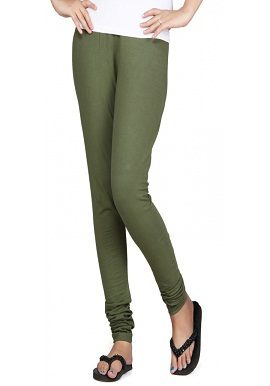 Olive Green Coloured Legging|online|