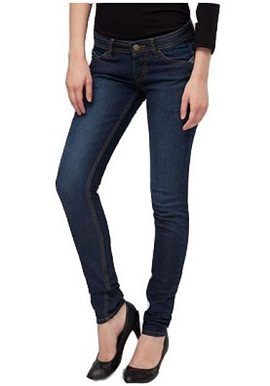 Solid Blue Denim Jeans|buy|