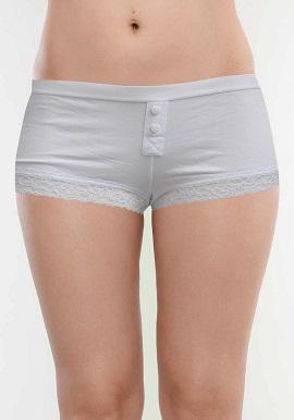 Primark White Soft Trim Lace Boyshort |online|India|