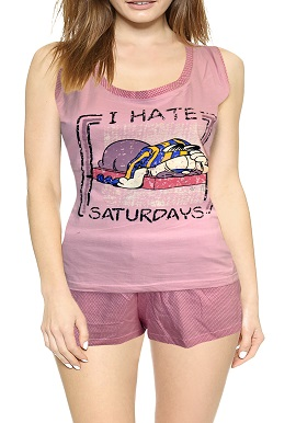 Soft Cotton Pink Printed Short Set |online|buy|