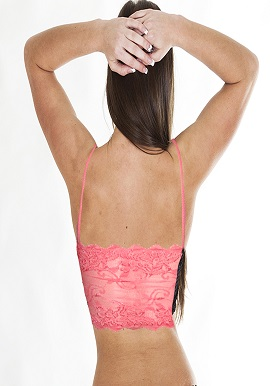 Women's Cool Half Lace Peach Cami Bra |buy|cami bra|