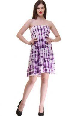 Light Purple Off Shoulder Dress