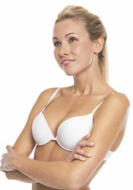 Seamless White Push Up Bra By Hushh