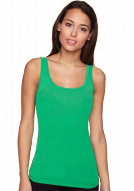 Girl's Cool Green Vest Cami Top