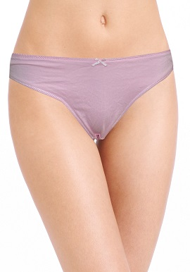 Girls Pretty Soft English Pink Thong