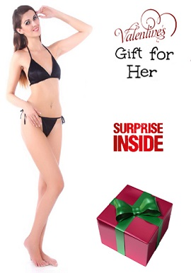 Luxury Bikini Bra Lingerie Gift Set Surprise Free Gift