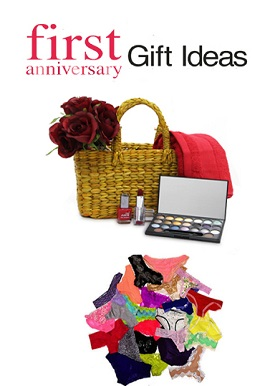 Luxury First Marriage Anniversery Gift Hamper For Her
