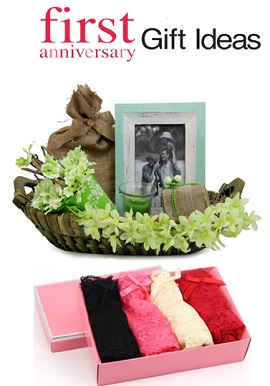 Romantic First Marriage Anniversary Gift Pack For Wife