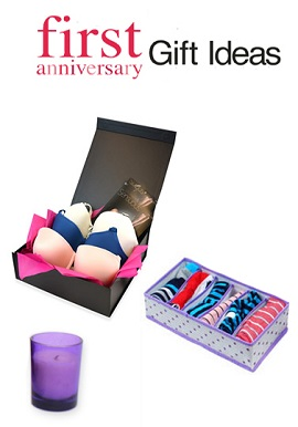 Sensual 1st Wedding Anniversary Gift Hamper for Sweetheart