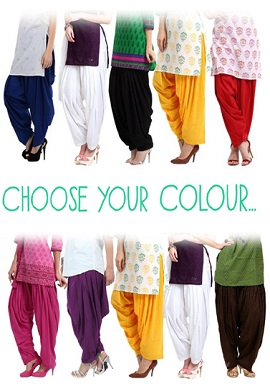 Wholesale Lot Of 10 Patiala Salwar