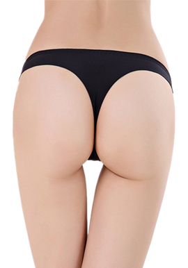 Wholesale six cotton tanga panties lot