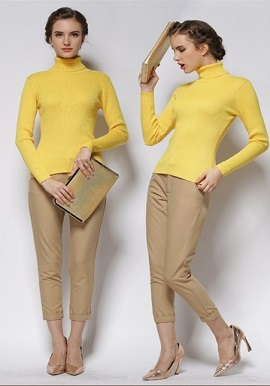 Women's Slim Knit Sweater