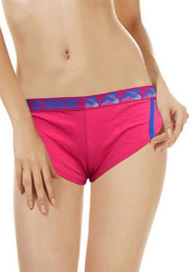 Splash Women's So Innocent Cotton Comfort Pink Boyshort Panty