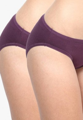 About U Women's Usual Wear Pack Of 2 Underwear